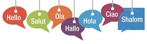HELLO - SALUT - OLA - HALLO - HOLA - CIAO - SHALOM
