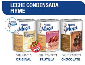 LECHE CONDENSADA FIRME Original / Frutilla / Chocolate