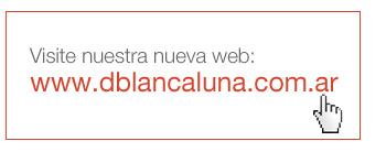 Visite nuestra nueva web: www.dblancaluna.com.ar