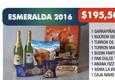 ESMERALDA 2016 / 9 ÍTEMS / $ 195,50 + IVA