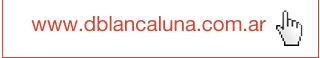 Visite nuestra web: www.dblancaluna.com.ar